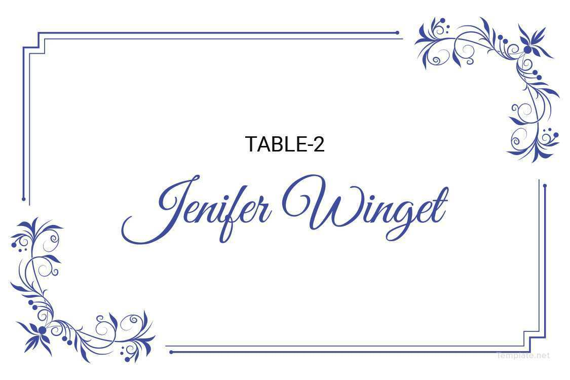 21 Free Wedding Place Card Template Microsoft Word For Free for Throughout Microsoft Word Place Card Template