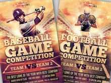 42 How To Create Baseball Flyer Template Free With Stunning Design for Baseball Flyer Template Free