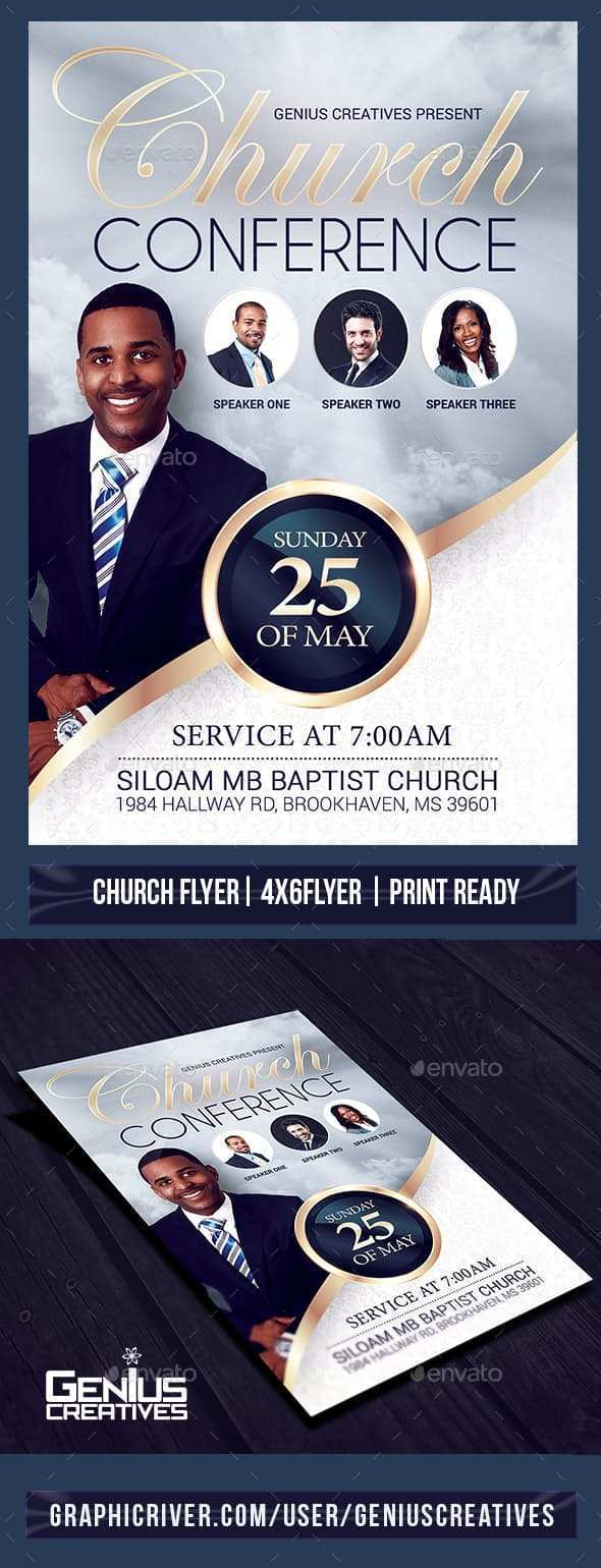 42 How To Create Church Conference Flyer Template Download for Church Conference Flyer Template