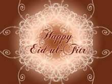 42 Online Eid Ul Fitr Card Templates Maker with Eid Ul Fitr Card Templates