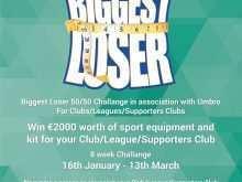 42 Printable Biggest Loser Flyer Template Download by Biggest Loser Flyer Template