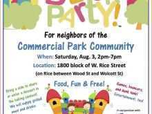 42 Printable Block Party Template Flyer Templates with Block Party Template Flyer