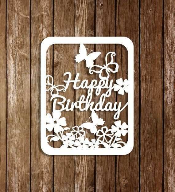 42 Standard Birthday Card Template Svg Templates with Birthday Card Template Svg