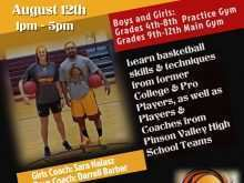 42 Visiting Basketball Camp Flyer Template Formating with Basketball Camp Flyer Template