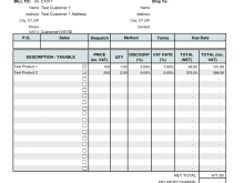 42 Visiting Tax Invoice Template Pdf For Free for Tax Invoice Template Pdf
