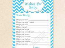Free Printable Best Wishes Card Template