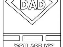Father'S Day Card Template For Word