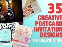 Postcard Design Template Indesign