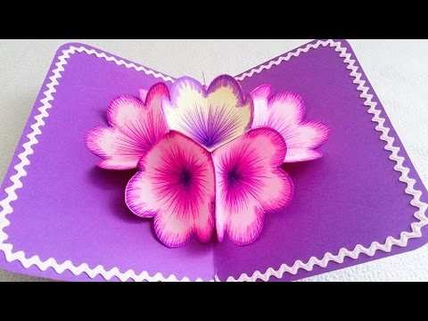 43 Creating Flower Card Templates Youtube Download with Flower Card Templates Youtube