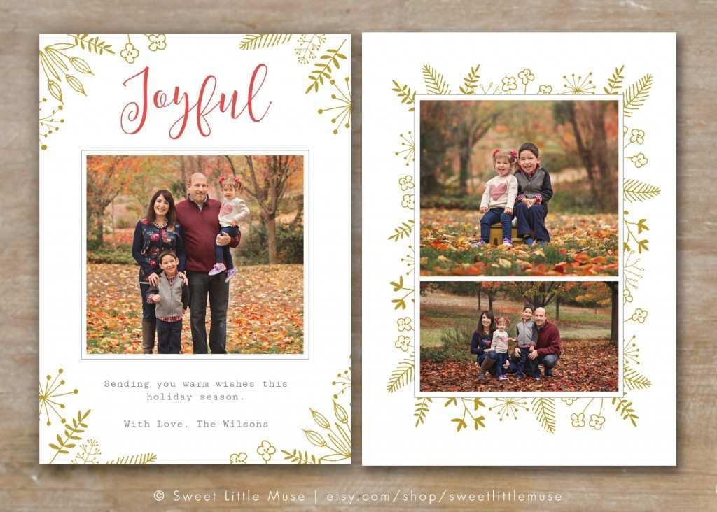 43 Creative Christmas Card Template Photographer For Free with Christmas Card Template Photographer