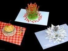 43 Creative Flower Pop Up Card Templates Peter Dahmen Formating with Flower Pop Up Card Templates Peter Dahmen