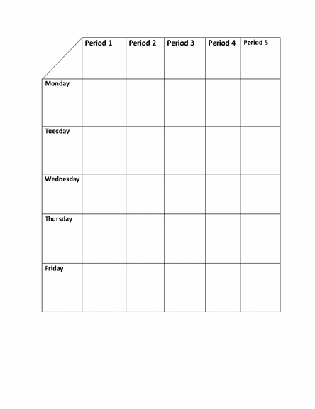 43 Customize Class Timetable Template Doc Maker with Class Timetable Template Doc