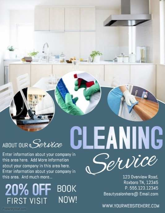 43 Customize Cleaning Services Flyer Templates Now with Cleaning Services Flyer Templates