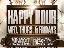43 Customize Our Free Happy Hour Flyer Template Free With Stunning Design by Happy Hour Flyer Template Free