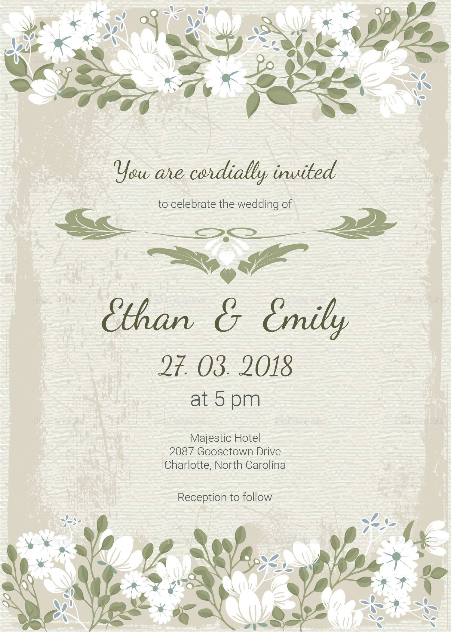 43 Customize Our Free Wedding Card Template Malaysia For Free for Wedding Card Template Malaysia