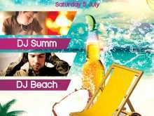 43 Free Beach Party Flyer Template Layouts by Beach Party Flyer Template