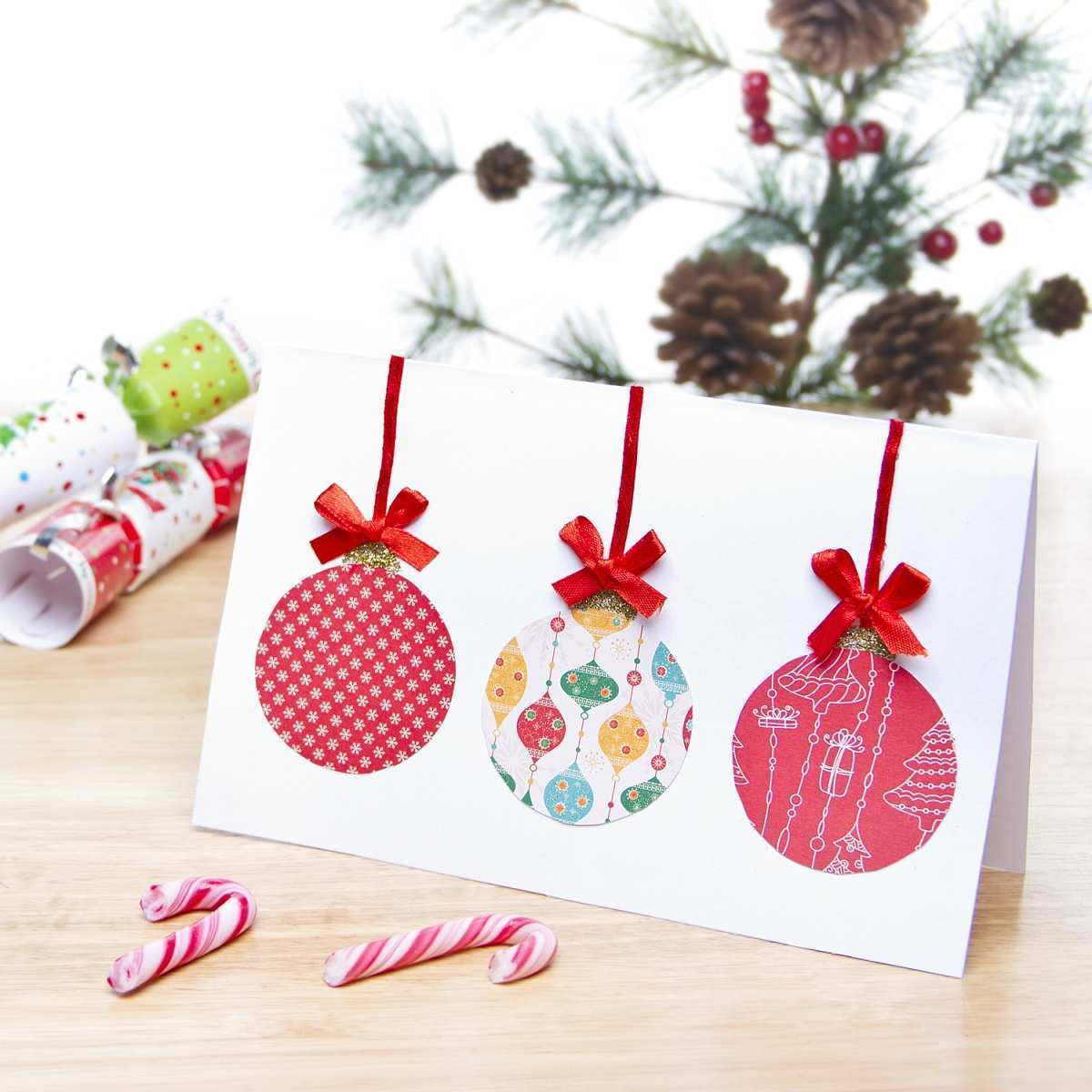 43 Free Christmas Bauble Card Template With Stunning Design for Christmas Bauble Card Template