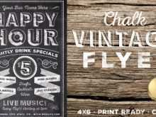 43 Free Printable Vintage Flyer Template Formating with Vintage Flyer Template