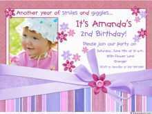43 How To Create 2Nd Birthday Card Template for Ms Word by 2Nd Birthday Card Template