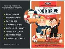 43 How To Create Free Food Drive Flyer Template for Ms Word by Free Food Drive Flyer Template