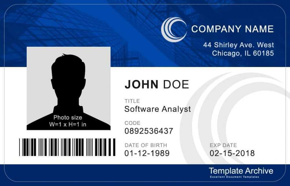 43 how to create generic id card template with generic id