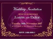 Wedding Card Templates Word