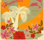 Hawaii Postcard Template
