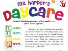 43 Printable Daycare Flyer Templates Templates with Daycare Flyer Templates