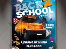 43 Report Back To School Night Flyer Template Now for Back To School Night Flyer Template
