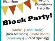 43 Report Block Party Template Flyer Download for Block Party Template Flyer