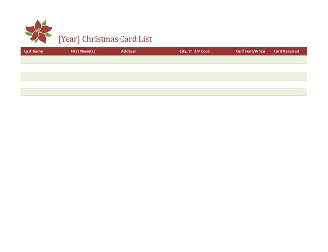 43 Standard Christmas Card Address Template Formating by Christmas Card Address Template