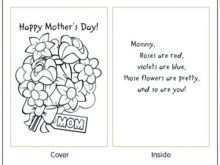 43 Standard Mother S Day Card Templates To Print in Word with Mother S Day Card Templates To Print