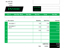 Freelance Consulting Invoice Template