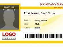 43 The Best Id Card Template For Word Maker for Id Card Template For Word