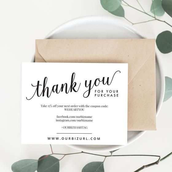 43 Visiting Business Card Thank You Template Download for Business Card Thank You Template