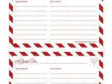 43 Visiting Christmas Recipe Card Templates Now with Christmas Recipe Card Templates