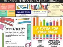 Tutoring Flyers Template