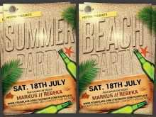 44 Adding Beach Party Flyer Template for Ms Word with Beach Party Flyer Template