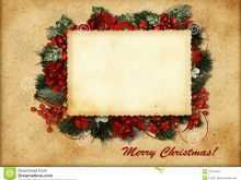 44 Best Vintage Christmas Photo Card Templates Layouts for Vintage Christmas Photo Card Templates