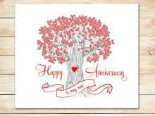44 Blank Word Templates Anniversary Card With Stunning Design for Word Templates Anniversary Card