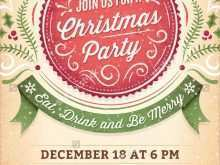 44 Christmas Party Flyer Template Free Now for Christmas Party Flyer Template Free