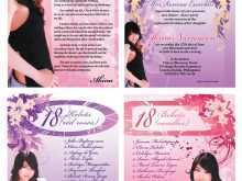 44 Create 18Th Birthday Card Template Free Layouts with 18Th Birthday Card Template Free