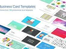 Business Card Template Pages Download