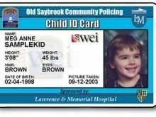 44 Creating Baby Id Card Template Now for Baby Id Card Template