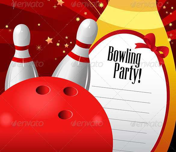 44 Creating Bowling Flyer Template Free Now with Bowling Flyer Template Free