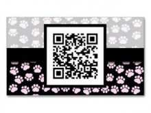 44 Creating Business Card Template Paw Print in Photoshop by Business Card Template Paw Print