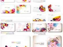 44 Creating Floral Name Card Template Free Formating by Floral Name Card Template Free