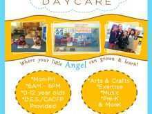 44 Creating Home Daycare Flyer Templates With Stunning Design for Home Daycare Flyer Templates