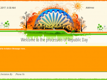 44 Creating Invitation Card Format For Republic Day Download with Invitation Card Format For Republic Day