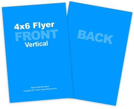 44 Creative 4 By 6 Flyer Template Formating for 4 By 6 Flyer Template
